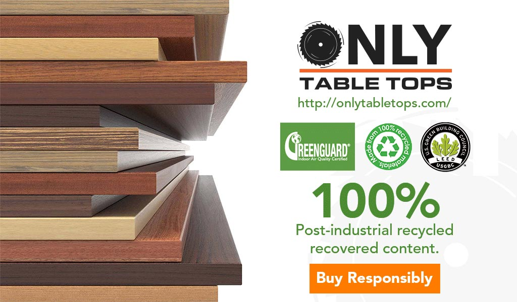 Green Building LEED Only Table Tops Certified Green Manufacturer Phoenix Arizona USA