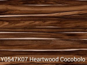 Y0547K 07 Heartwood Cocobolo Wilsonart Laminate Color Only Table Tops