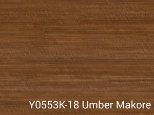 Y0553K 18 Umber Makore Wilsonart Laminate Color Only Table Tops