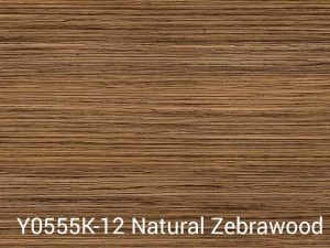 Y0555K 12 Natural Zebrawood Wilsonart Laminate Color Only Table Tops